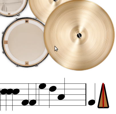 Rhythmsticks drumming app